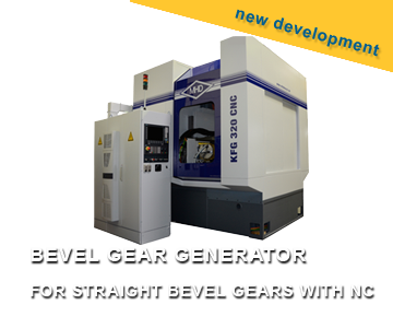 BEVEL GEAR GENERATOR FOR STRAIGHT BEVEL GEARS WITH NC